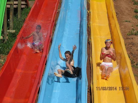 Wilgewandel Holiday Farm: waterslide
