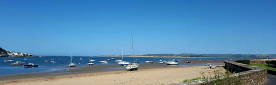 Instow beach and dunes