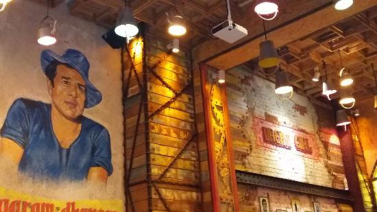 The Big Interior Wall...