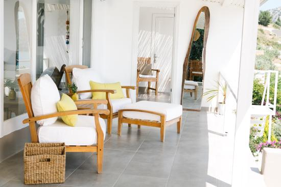 Bozburun, Turkey: Beach House Suite Terrace