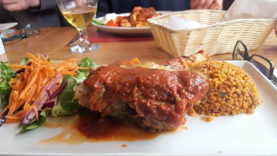 Incik kebab for Anatolia turkish cuisine