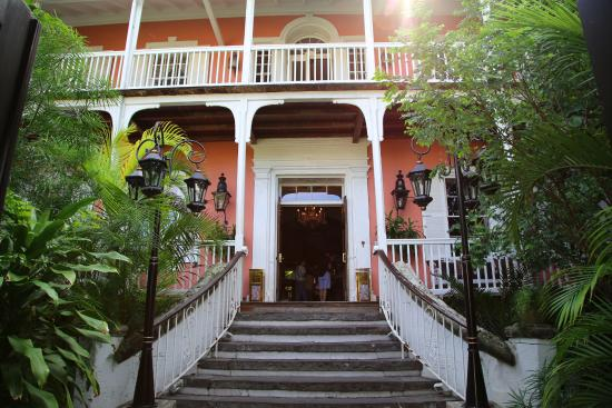 Hotel main door - Picture of Graycliff Hotel, Nassau - Tripadvisor