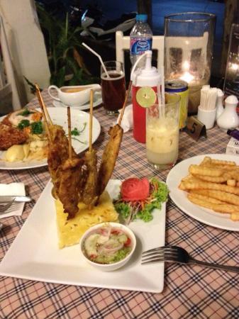 Baron Restaurant Karon: Наш ужин