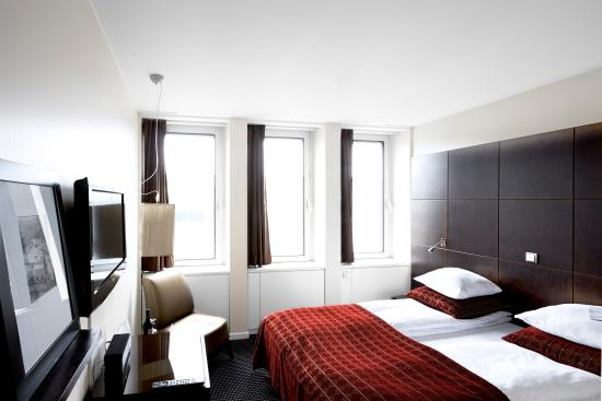 The Square Copenhagen: Standard double room