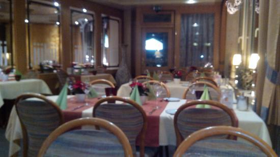 Allagen, Tyskland: La bella sala del ristorante