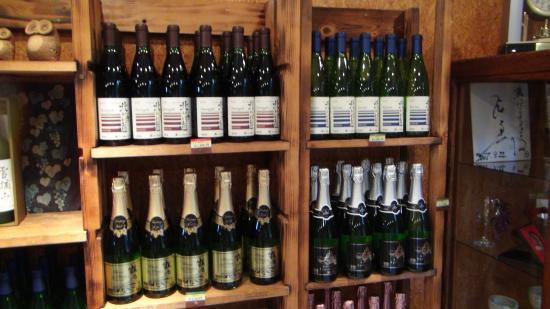 Tsurunuma Winery : ここでしか販売していない限定品もあります。