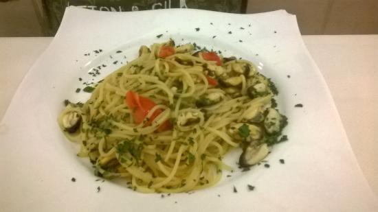 La Perla: Spaghetti alle cozze