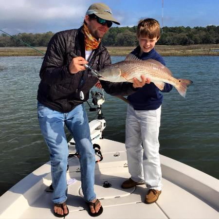 Redfish Beaufort Guide Service