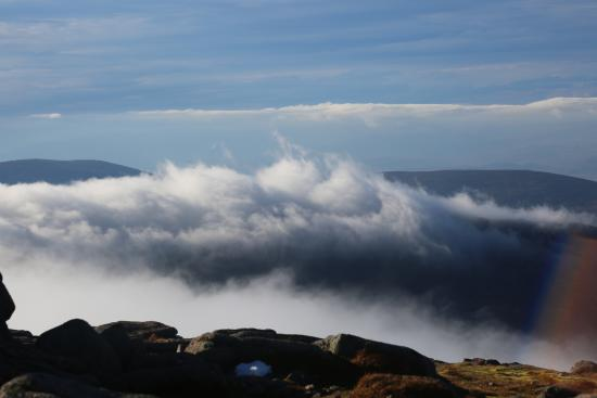 Aviemore, UK: Above the clouds