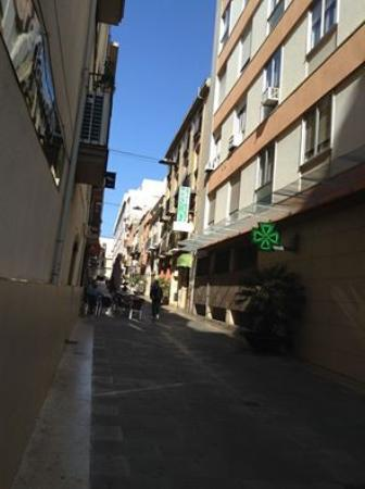 Hostal Santa Teresa: Het straatje