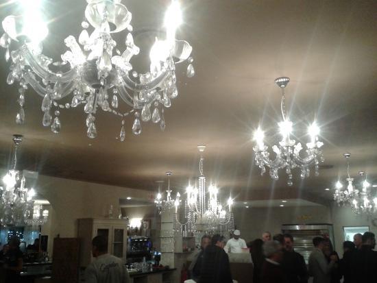 locali interni vista parziale del bar - Picture of Ristorante ...