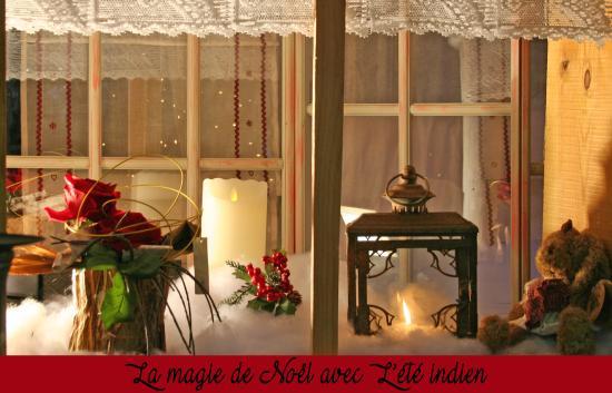 Montlouis-sur-Loire, Francia: Décor de Noël L'Été indien