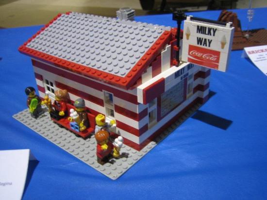 Milky Way Ice Cream : Milky Way Lego Style!