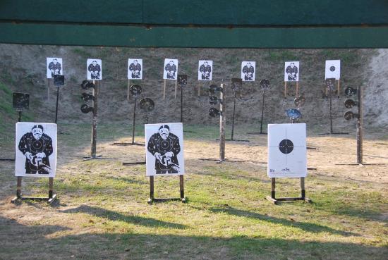 Rackeve, Węgry: Pistol range