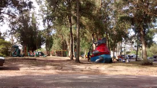 Parque El Jaguel: El kiosko