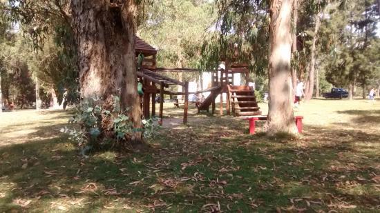 Parque El Jaguel: Juego de madera