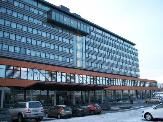 Front Of Hilton Reykjavik Nordica