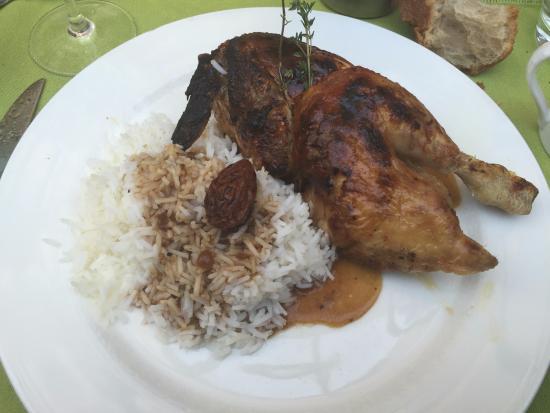 Restaurant La Broche : Chicken