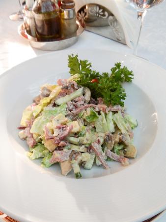 Dom Tatarskoi Kulinarii: салат