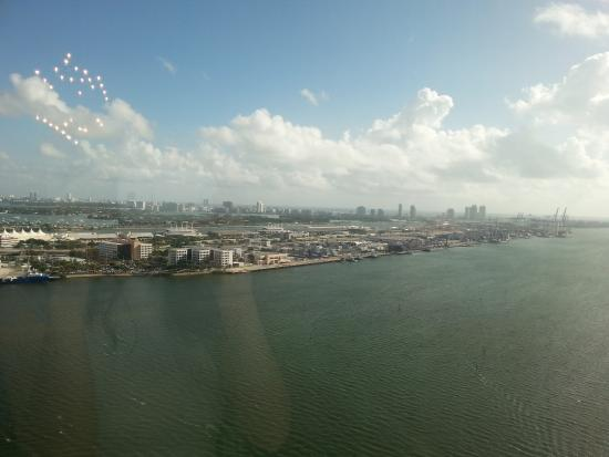 Intercontinental Miami View Of South Beach And Water