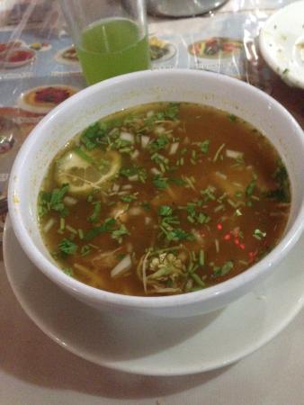 El Principe Tutul Xiu: Sopa de Lima - Excelente sabor! Recomendable!