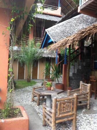 Portulano Dive Resort: Near the reception area
