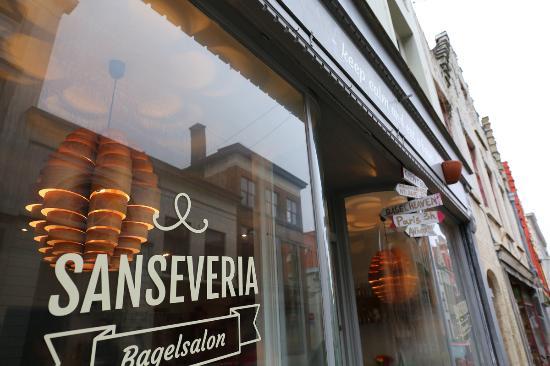 Shopfront - Picture of Sanseveria Bagelsalon f4a01dc37d1d