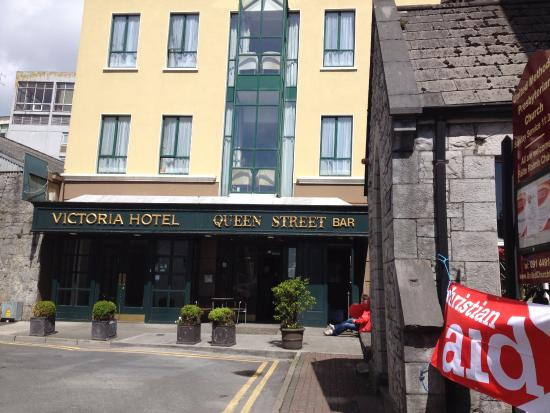 Entrance To Victoria Hotel Galway Ireland