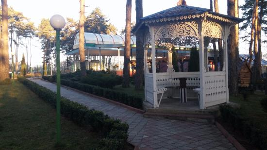 Khmilnyk, ยูเครน: территория возле столовой