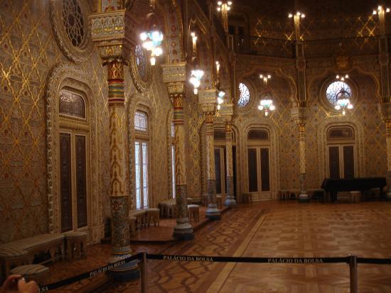 Palacio da Bolsa : Salón arabe