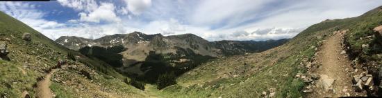 Wheeler Peak: Panoramic - closer to the top!