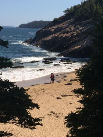Sand Beach Acadia National Park Me