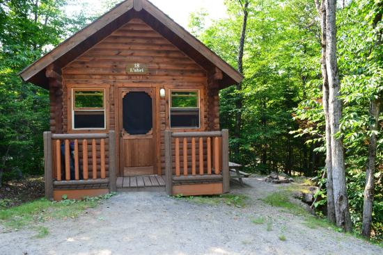 Morin Heights Nature Camping & Cabins : Cabin