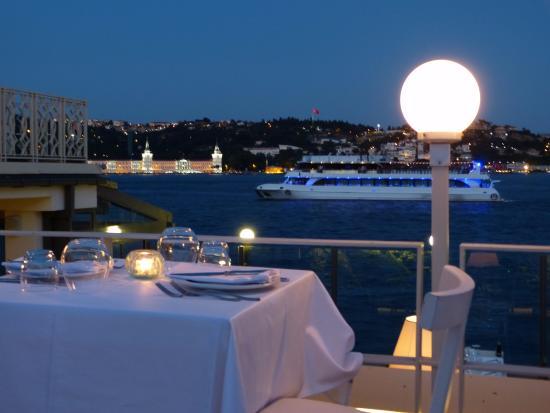Arnavutkoy District, Turquía: Vistas desde el restaurant