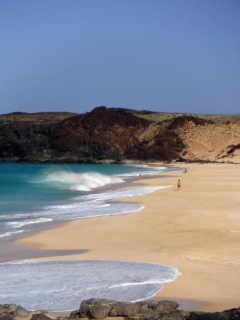 Islas Canarias, España: playa las conchas