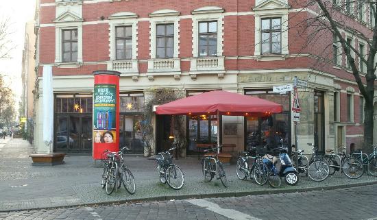 """das """"café butter"""" in der pappelallee/gneiststraße - bild von cafe"""