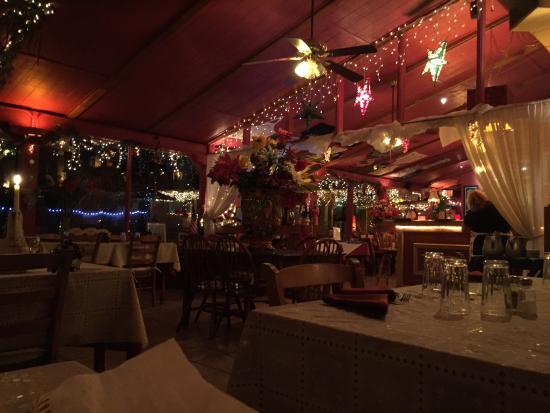 Tubac, AZ: Melio's Dining Area