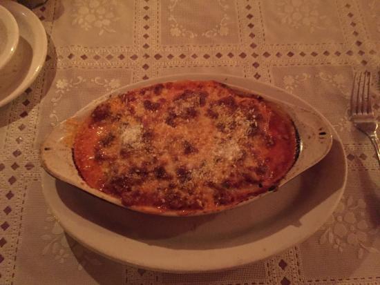 Tubac, AZ: Home made meat lasagna special