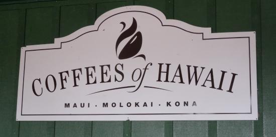 Coffees of Hawaii Plantation Store: Coffes of Hawaii