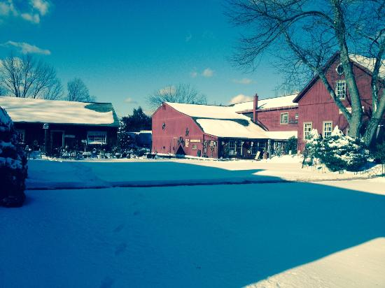 Granby, CT: The Red Barn Gift Shop at the Old Mill Pond Village Shops