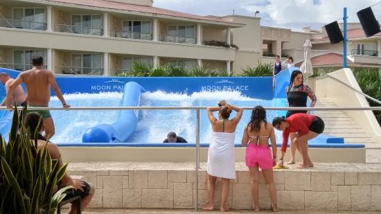 Surf FloRider  Picture of Moon Palace Cancun Cancun  TripAdvisor