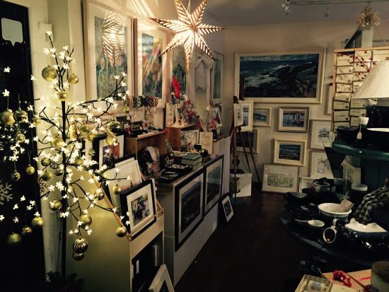 Kilbaha, Irlanda: Christmas at the gallery