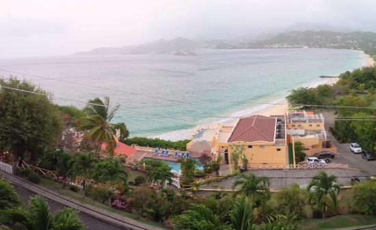 The Flamboyant Hotel & Villas: This was the view from my room at the Flamboyant!