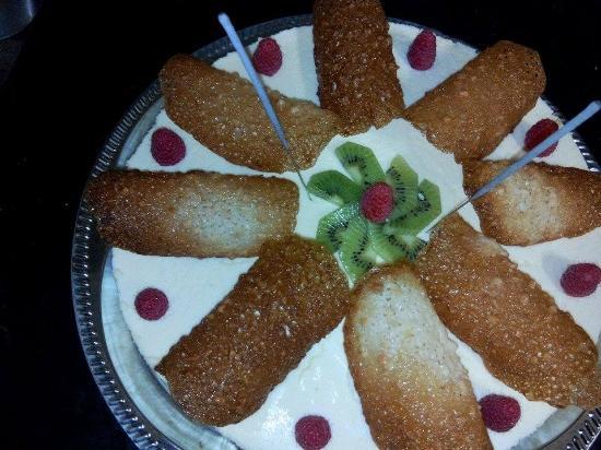 O'Soleil: Gâteau d'anniversaire Bavarois chocolat blanc