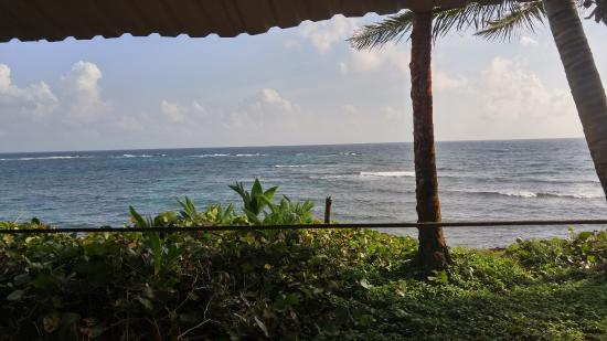 Casa Iguana: View from the porch on my casita over the water