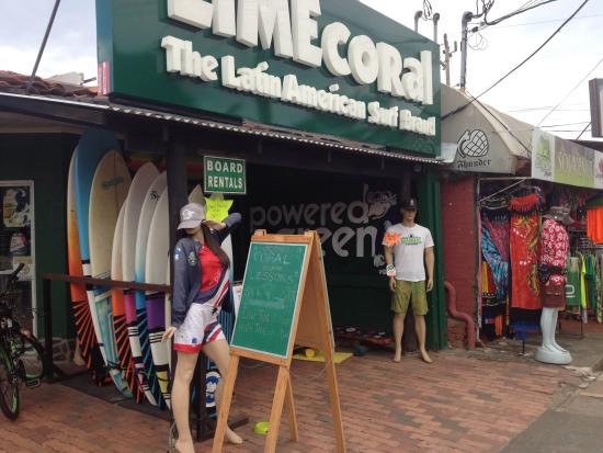 LimeCoral Jaco Store