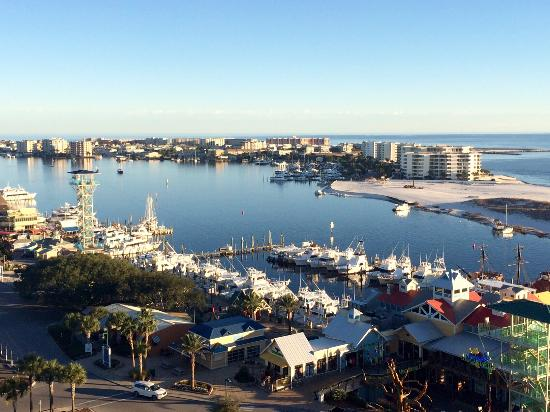 View From The Room 8th Floor Picture Of Emerald Grande At Harborwalk Village Destin