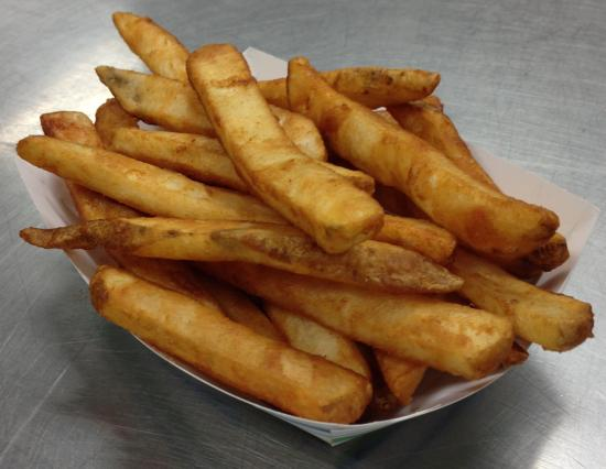 Archie's Barbeque: Batter dipped Fries