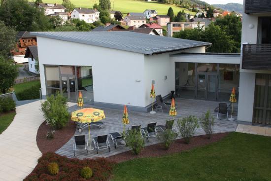 Lambrechterhof - Das Naturparkhotel: Das Poolgebäude