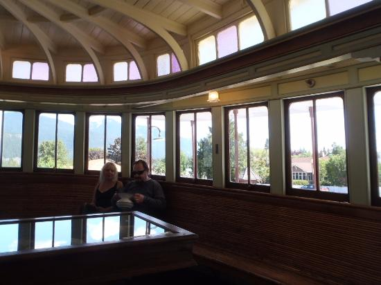 The SS Moyie National Historic Site : Inside the  SS Moyie